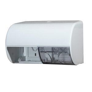 Stella D755 Horizontal Double Toilet Roll Dispenser