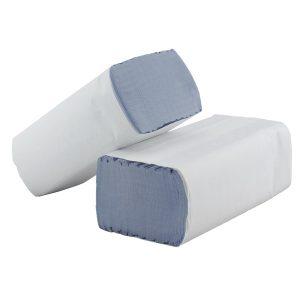 Stella SFBK3000 Kruger Blue Slim Fold Hand Towels