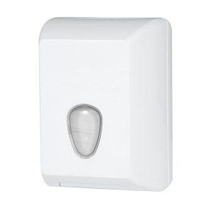 Stella D622W Interleaved Toilet Tissue Dispenser