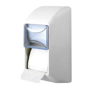 Stella D670 Vertical Double Toilet Roll Dispenser