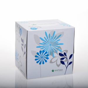 Stella Deluxe Facial Tissue Cube