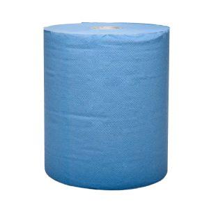 Stella 0150BL Hospitality Blue Auto Cut Roll Towel