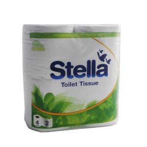Stella 3535 2Ply Toilet Tissue 12x4PK