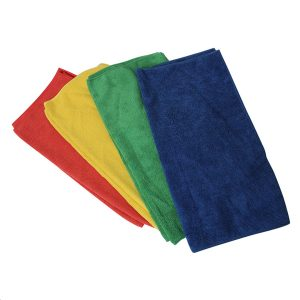 Sabco Mixed Microfibre Cloths 8 Pack
