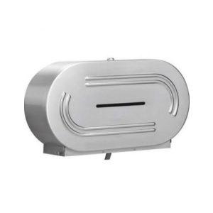 Stella D494S Stainless Steel Double Jumbo Dispenser