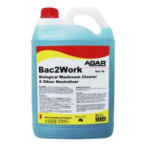 Agar Bac2work Biological Washroom Cleaner / Odour Neutraliser