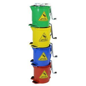 Edco Metal Wringer Bucket 15L