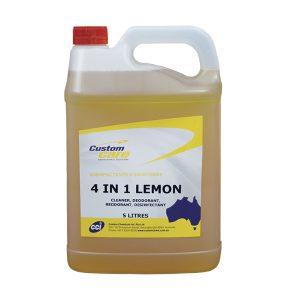 Custom 4 in 1 Lemon Disinfectant Cleaner