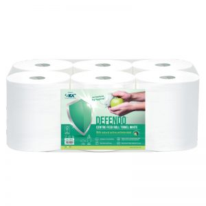DEFENDO 99941 White Centrefeed Roll Towel