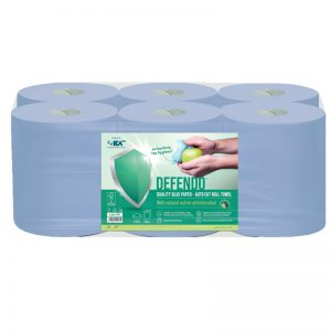 DEFENDO 9161 Blue Autocut Roll Towel