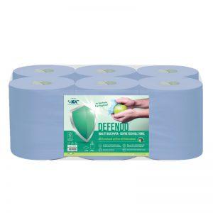 DEFENDO 99940 Blue Centrefeed Roll Towel